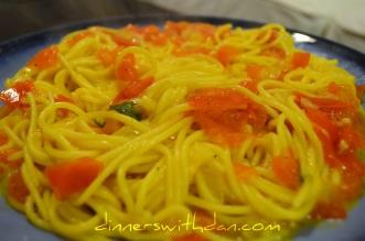 Garlic & Tomato Spaghetti