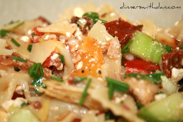 James' Junk Salad - Closeup