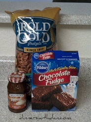 Baking with Blaire Broomstick Brownies