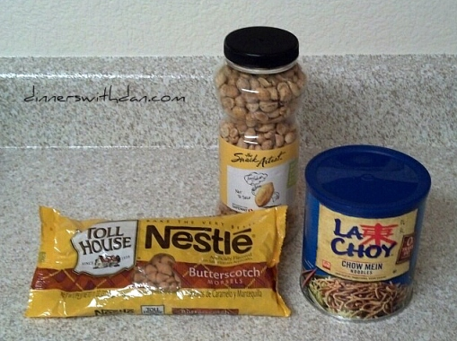 Haystack Cookie Ingredients