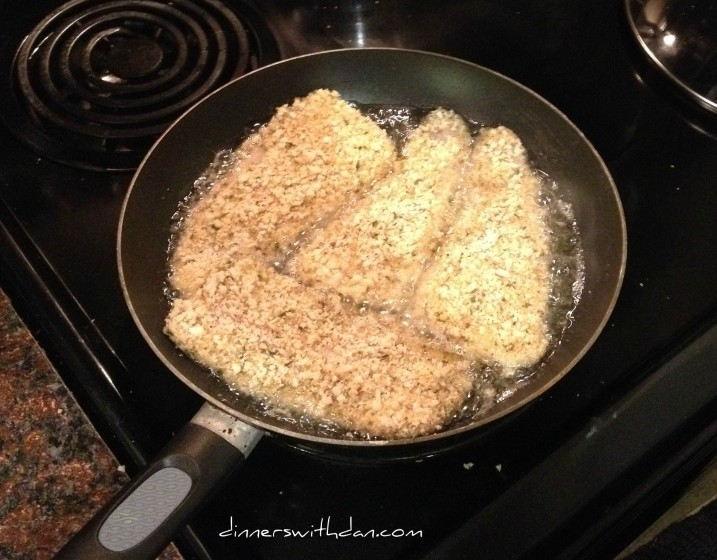 The Black Cod Pan Fry